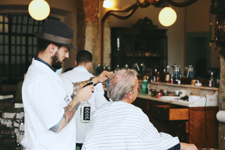 Barbershop Jack : FIGAROS BARBERSHOP LISBON ?PULP COLLECTORS 1
