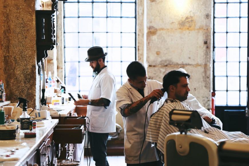 Barbershop Jack : FIGAROS BARBERSHOP LISBON ?PULP COLLECTORS 7