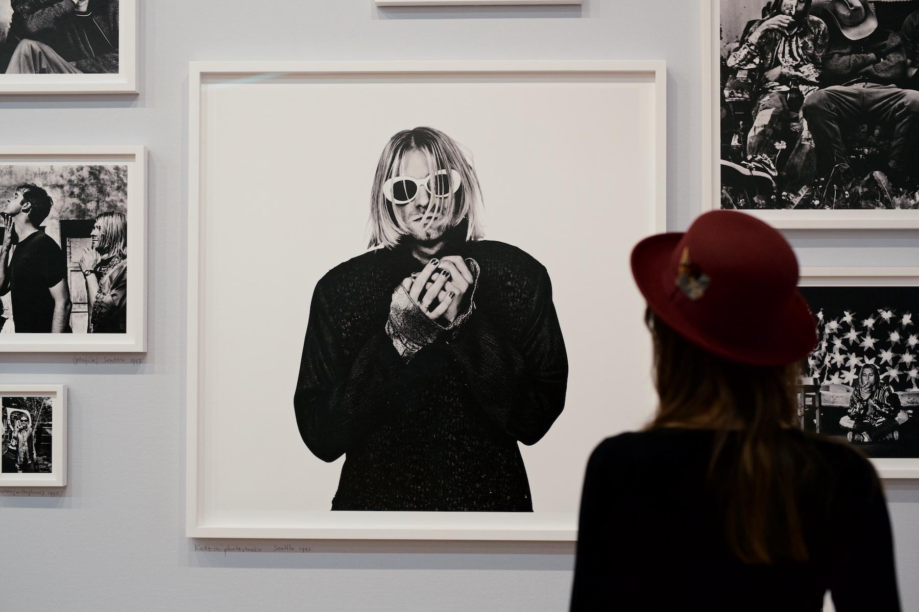 Anton Corbijn, Gemeentemuseum Den haag, Kurt Cobain