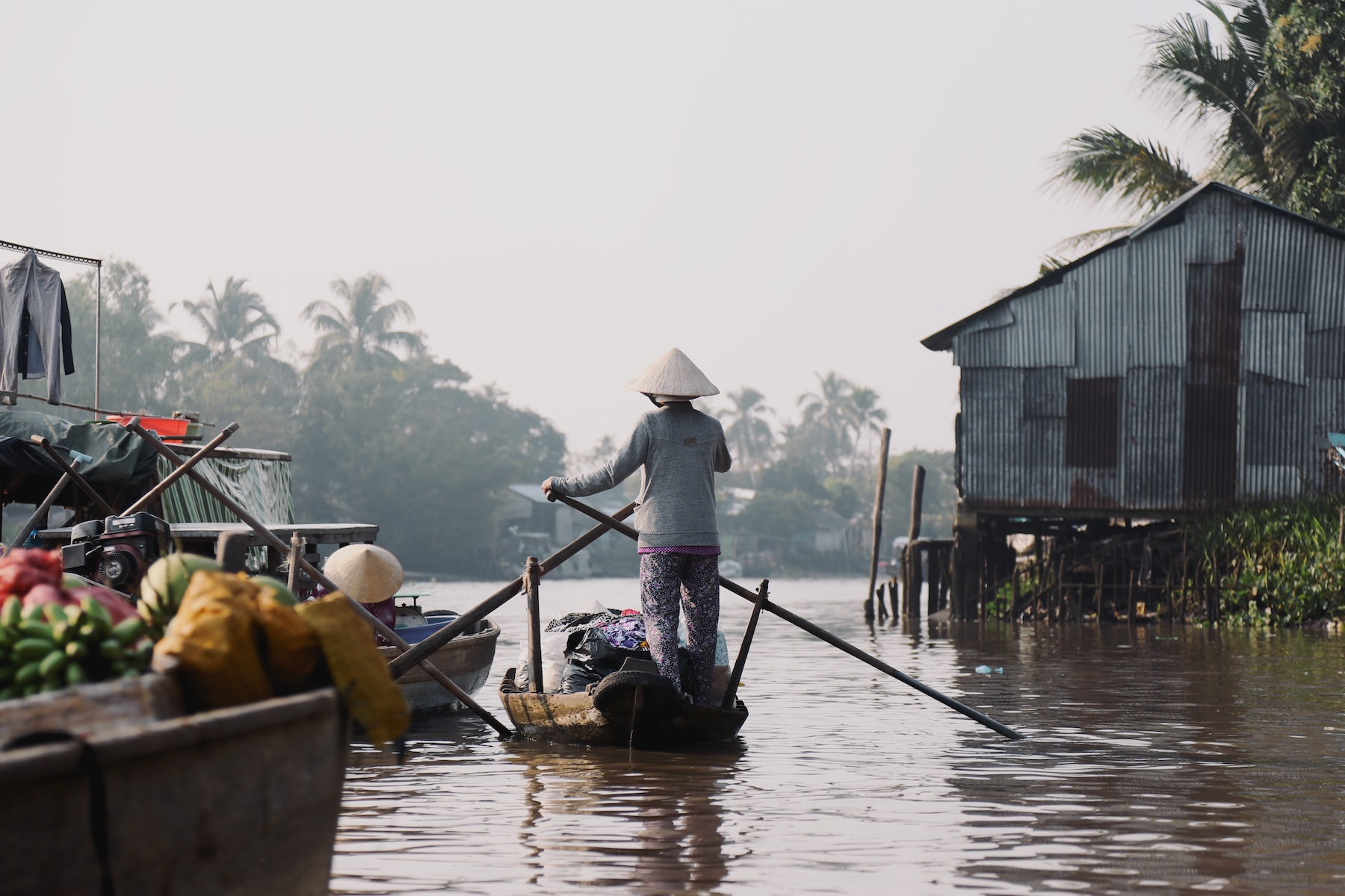 mekong delta, vietnam, traveling vietnam, boat mekong delta