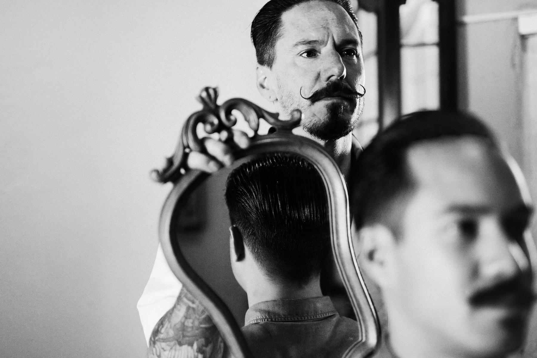 Barbershop Monsieur Moustache of Pascal Bannink